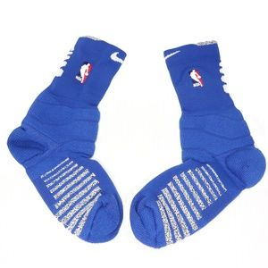 New Nike Detroit Pistons NBA Basketball Socks Blue